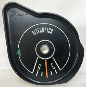 1969 1970 Ford Mustang Alternator Gauge Non tach C9zf 10671 a 69 70 Turn Signal
