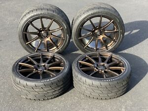 2005 2019 Ford Mustang Forgestar Cf10 Wheel Tire Set Bronze