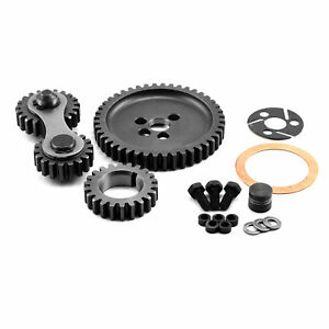 Speedmaster Pce267 1002 Dual Idler Noisy Timing Gear Drive Set Chevy Sbc 350