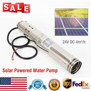 Farm ranch Deep Well Submersible Pump 24v 36v Dc stainless Solar Water Pump usa