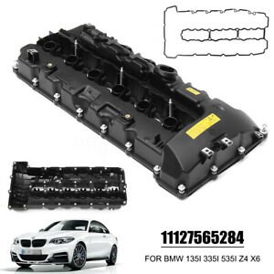 Engine Valve Cover 11127565284 For Bmw 4 335is 740i 740li N54 F02 E70 Twin Turbo