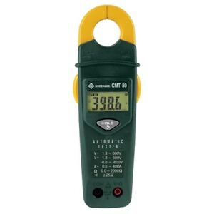 Greenlee Cmt 80 Automatic Electrical Tester voltage Continuity Amperage Meter
