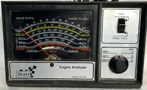 Vintage Sears Engine Analyzer Model 161 2161