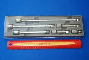 New 2019 Snap on Tools 6 Pc 3 8 Drive Wobble Extension Set 206afxw Ships Free