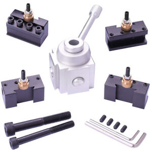 Mini Lathe Quick Change Tool Post Holders Tooling Package