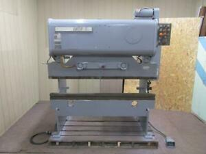 Niagara Ib25 5 Mechanical Press Brake 25 Ton 6 Ft Bed 72 10 Gauge Ib25 5 6