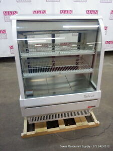 Turbo Air Tcdd 36 2 h s 36 Refrigerated Curved Glass Deli Show Case