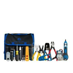 Security Alarm Tool Kit 14 Piece Electricians Repair Cable Tester Multi tool