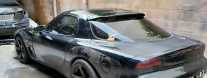 Super Rare Genuine Oem Rx7 Fd3s Rear Roof Shade Spoiler Mazdaspeed