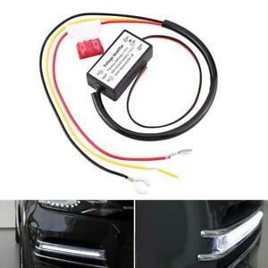 Auto Car Led Drl Daytime Running Lights Controller Device Dimmer On Off Module