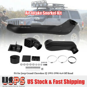 For Jeep Grand Cherokee 1993 1998 Air Intake Snorkel Kit 4x4 Off Road Black