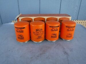 8 Wisconsin Engine Motor Rv 29 Oil Filters New Old Stock