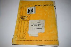 International Harvester Skidder Tractor 500 Crawler Equipment Parts Catalog