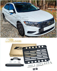 Eos For 19 Up Volkswagen Jetta All Front Tow Hook License Plate Mount Bracket