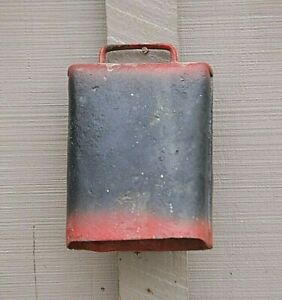 Old Vintage Primitive Rustic Cow Bell W Clapper Country Farmhouse Farm Fresh C