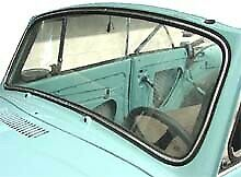 Vw Vintage Parts Windshield Front Clear Convertible Bug 48 57