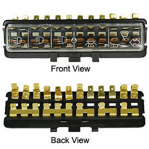 Vw Vintage Parts Fusebox 12 Poll New 71 Bug Ghia Only