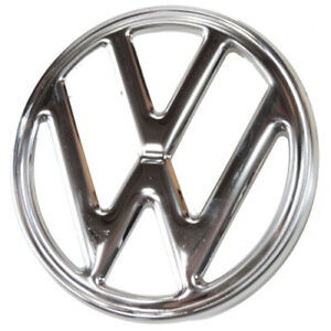 Vw Vintage Parts Emblem Front Vw Stainless Steel Fits Bus 73 79