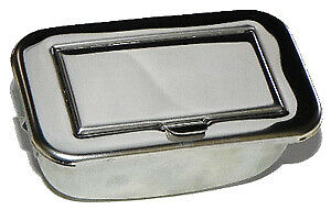Vw Vintage Parts Ashtray Stainless Steel Chrome Bus 55 67