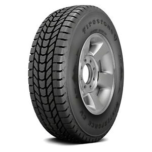 2 New Firestone Winterforce Cv 205 65r15c Load C 6 Ply Winter Commercial Tires