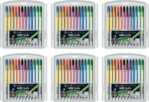 Bic Color Collection Permanent Markers Fine Point Assorted Colors 6 Pack