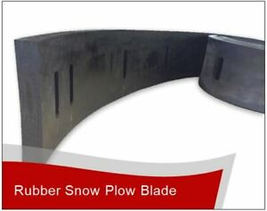 1 X 8 X 12 Linville Snow Pusher Rubber Cutting Edge Free Shipping
