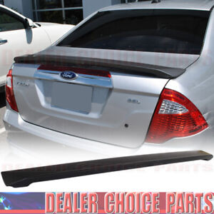 2010 2011 2012 Ford Fusion Oem Factory Style Trunk Spoiler Wing Matte Black