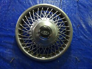1986 1988 Buick Riviera Oem 14 Wire Wheel Cover Hubcap 03634784