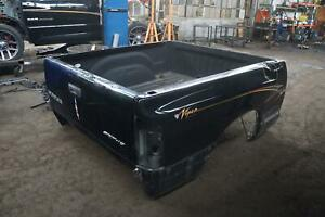 Local Pick Up Only Truck Bed Box W tailgate Black Dodge Ram Srt10 2004 06 dents