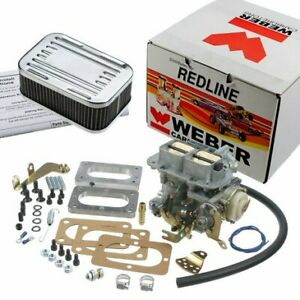 Weber Carburetor Kit For Toyota Land Cruiser Fj40 Fj55 Fj60 32 36 Rod 74 87 2f