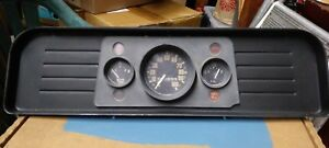 Vintage 1962 1963 Gmc Truck Instrument Cluster With Harness