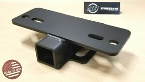 sr 5000lb Step Bumper Mount Mounting For 2 Hitch Receiver Rv Trailer Truck