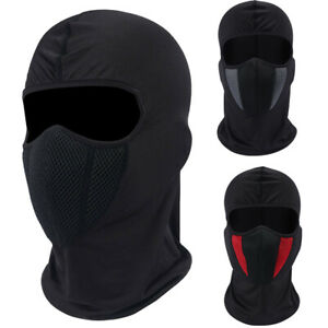 Winter Ski Windproof Full Face Mask Motorcycle Cycling Helmet Liner Mask US FAST