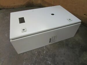 Rittal Ae1038 23 1 4 X 14 3 4 X 7 1 2 Steel Electrical Enclosure Type 4