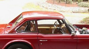 Triumph Tr 6 Hard Top Carmine Red Very Good Condition