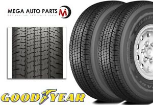 2 Goodyear Endurance St235 85r16 125n E Auto boat travel Trailer Hauler St Tires