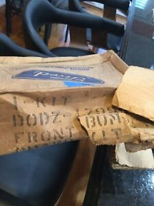 Nos 1970 Ford Maverick Rh Front Bumper Guard With Pad Hardware