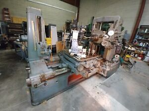 goverment Surplus Dixi Horizontal Jig Mill 60mm 1966 g L Boring Mill