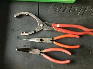 Mac Of240 Oil Filter Wrench Mac Knipex Needle Nose Snap On Bent Needle Nose