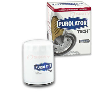 Purolator Tech Engine Oil Filter For 1986 Nissan Sakura Long Life Ok