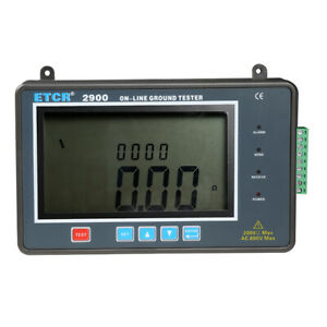 1pc Etcr2900 Online Earth Resistance Tester On line Monitoring Ground Resistance