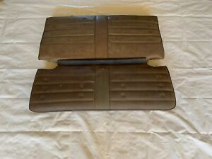 Rear Coupe Back Seat Chevelle 442 Gs Gto 1970 1971 1972 Upper Lower Cushions