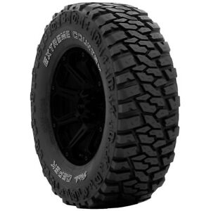 2 lt305 60r18 Dick Cepek Extreme Country 121 118q E 10 Ply White Letter Tires
