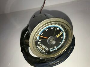 22b Vtg Sun Super Tach Thousands R P M Blue Line Model Sst 709 W Cup