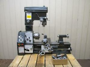 Smithy Granite 1324 Multi purpose Lathe Mill Milling Machine Combo 3 In 1