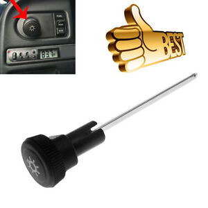 Black Headlight Switch Knob For 1992 97 Ford F150 F250 F350 Mustang Us Stock