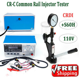 600bar Cr C Multifunction Common Rail Injector Tester Diesel Injector S60h