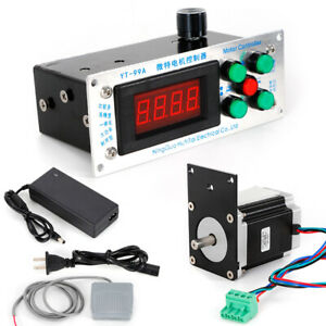 110v Yt 99a Digital Control Automatic Low Variable Speed Coil Winding Machine