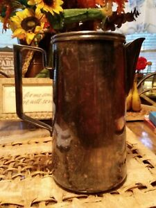 Antique English Silver Water Pitcher With Makersmark Dj