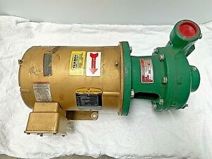 Tramco Myers Centrifugal Pump 150m 5 3 With Baldor Super e 5hp Motor 3 Phase